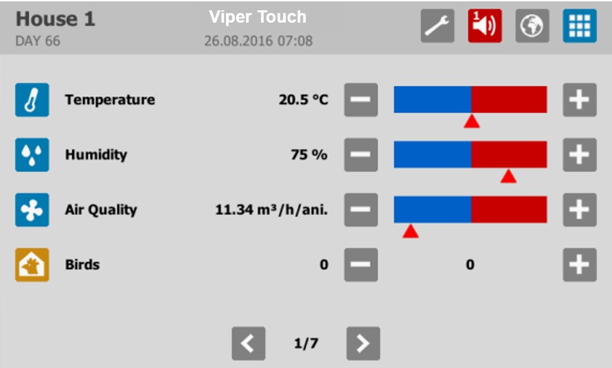 ViperTouch Climate Control