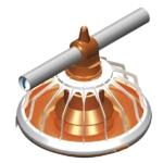 Broiler Feeding Pan