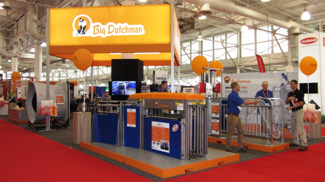 Big Dutchman Completed Booth