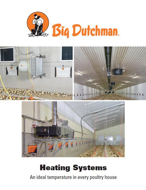 brooder heating system