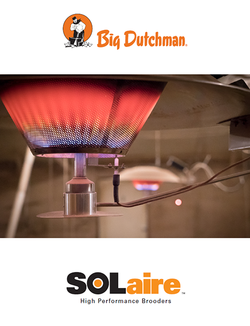 solaire poultry heating system