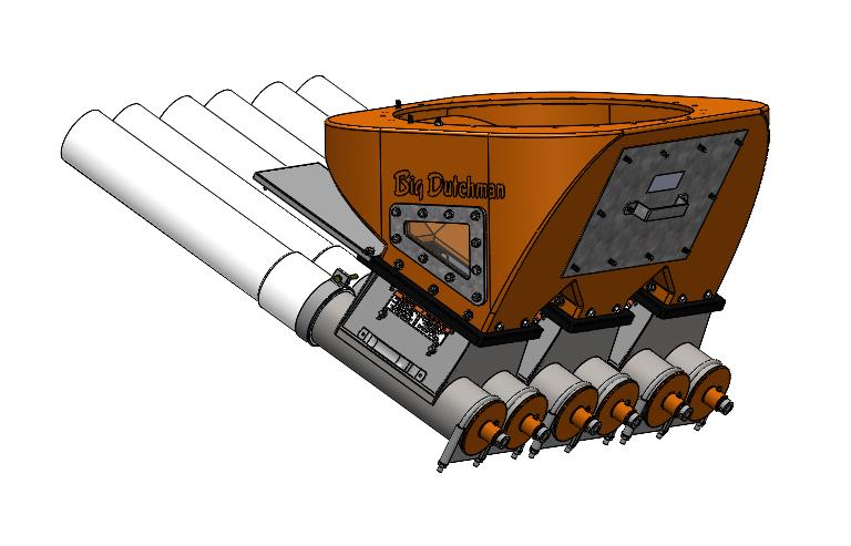flex auger triple boot assembly